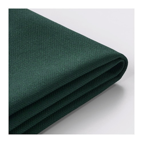 Vimle cover for 3 seat sofa gunnared dark green ikea for Housse sofa ikea