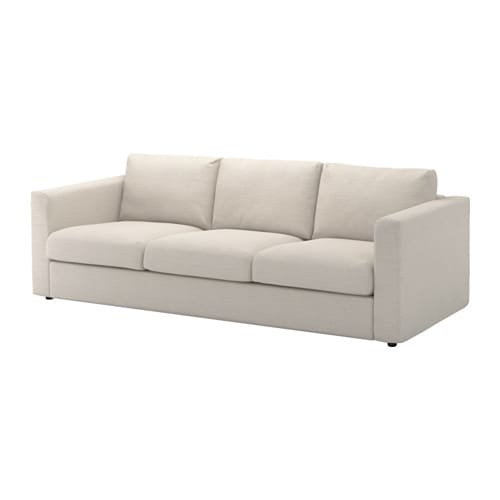 Vimle 3 seat sofa gunnared beige ikea for Sofas de 4 plazas baratos
