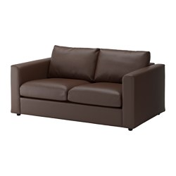 VIMLE 2-seat sofa, Farsta dark brown