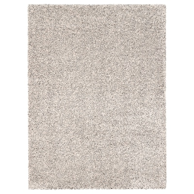 VINDUM Rug, high pile, white, 200x270 cm