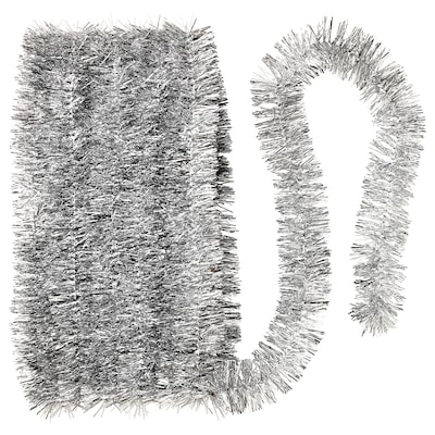 VINTER 2020 Garland, silver-colour, 6 m