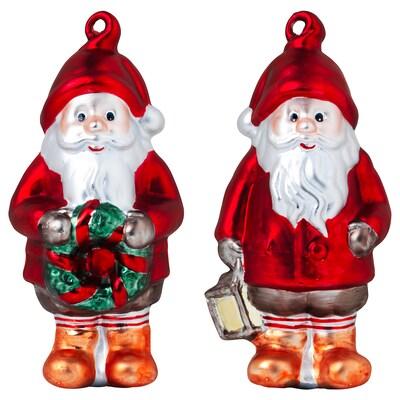 VINTER 2020 Hanging decoration, set of 2, Santa Claus