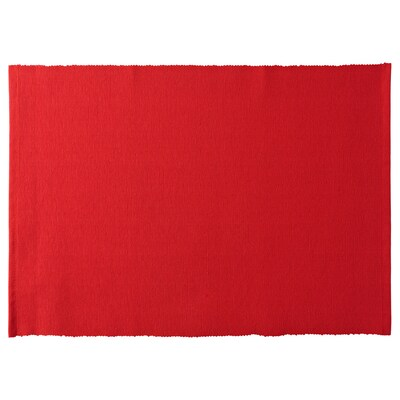 VINTER 2020 Place mat, red, 35x45 cm