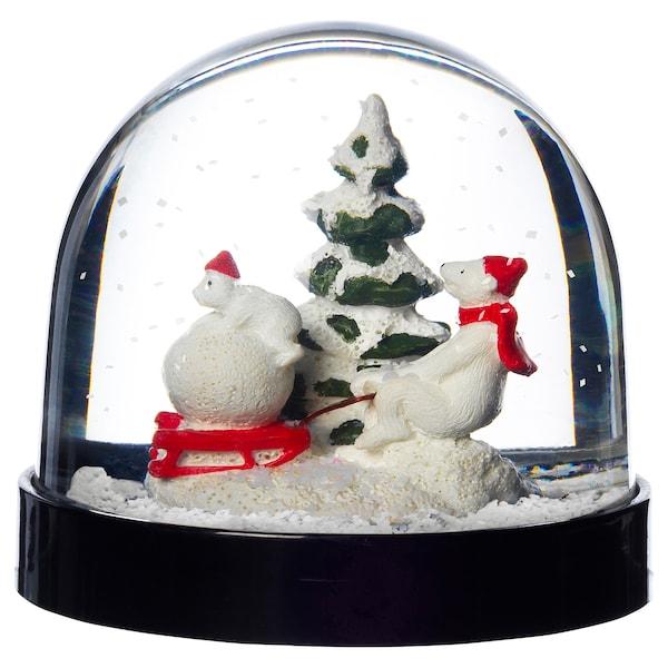 VINTER 2020 Snow globe, animals, 8 cm