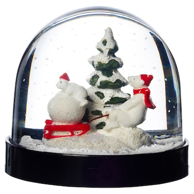VINTER 2020 Snow globe, animals, 8 cm