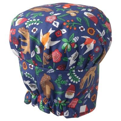 VINTER 2021 Children's hat, animal pattern multicolour