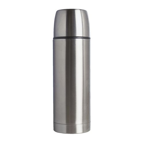 VOLYM Steel vacuum flask IKEA The insert is made of metal and is therefore resistant to impact.