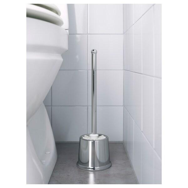 VOXNAN Toilet brush, chrome effect