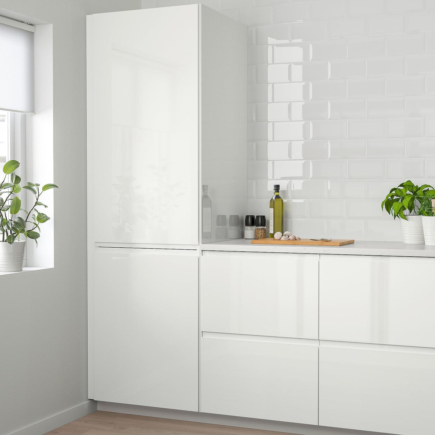 Voxtorp Door High Gloss White 20x80 Cm Ikea