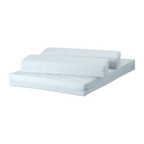 Ikea Kinderbett Was Mitwächst ~ VYSSA VINKA Mattress for extendable bed IKEA Bonell springs provide