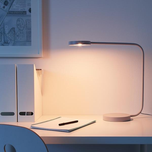 YPPERLIG LED table lamp light grey 12 cm 44 cm 16 cm 2.5 m 7.0 W