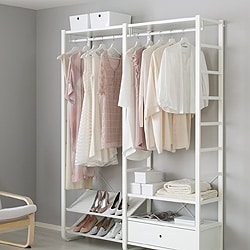 Finest Go To Elvarli Open Storage System With Ikea Laundry Storage Solutions