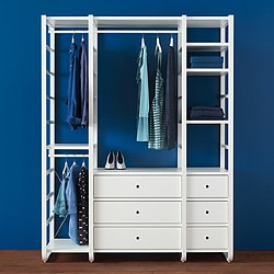 Exceptional Go To Open Clothes U0026 Shoe Storage System