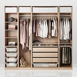 Bedroom storage solutions ikea - Armoire penderie dressing ...