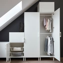 The IKEA Home Tour Squad built a custom PAX wardrobe in their bedroom  storage makeover to