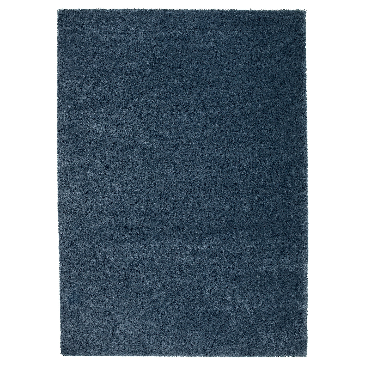 dum tapis poils hauts bleu fonc 170 x 240 cm ikea. Black Bedroom Furniture Sets. Home Design Ideas