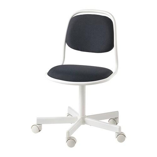 IKEA ORFJALL Chaise De Bureau Enfant Pivotante Reglable En Hauteur