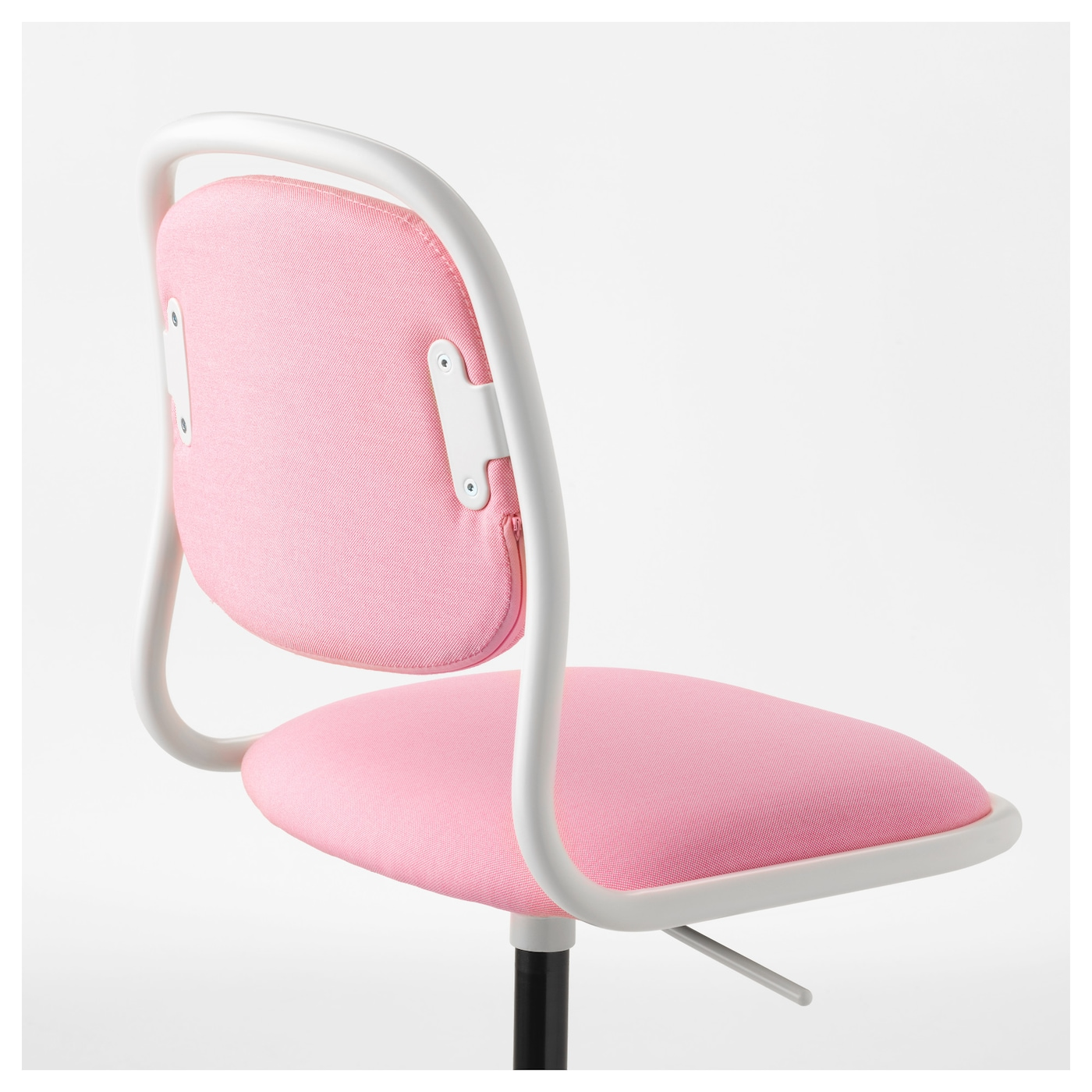 rfj ll chaise de bureau enfant blanc vissle rose ikea. Black Bedroom Furniture Sets. Home Design Ideas