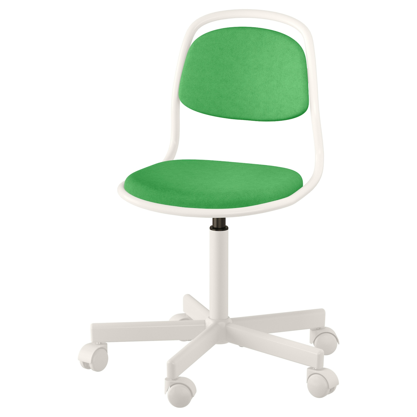 rfj ll chaise de bureau enfant blanc vissle vert vif ikea. Black Bedroom Furniture Sets. Home Design Ideas