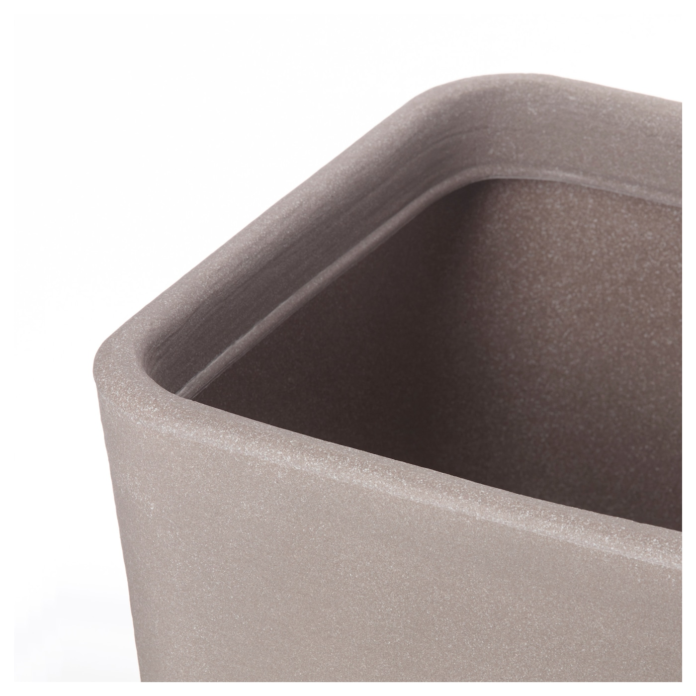 Stlig cache pot int rieur ext rieur beige 37x37 cm ikea for Cache pot interieur