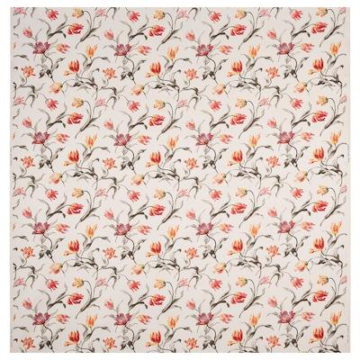 ÅLANDSROT Tissu au mètre, naturel/à motif floral, 150 cm