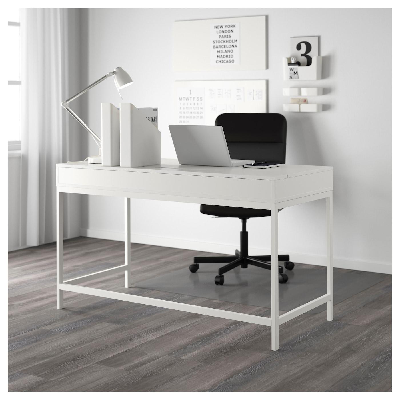 alex bureau blanc 131x60 cm ikea. Black Bedroom Furniture Sets. Home Design Ideas