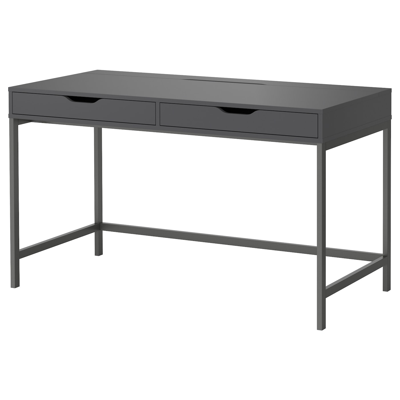alex bureau gris 131 x 60 cm ikea. Black Bedroom Furniture Sets. Home Design Ideas
