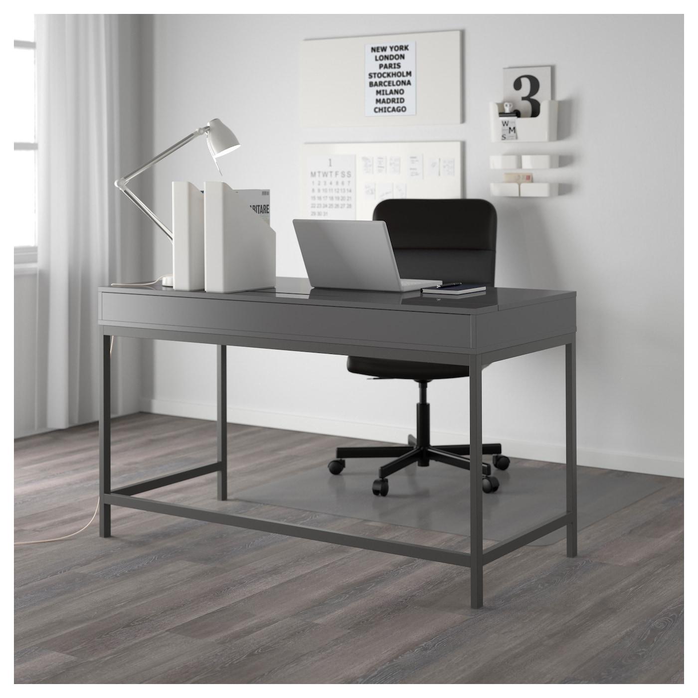 alex bureau gris 131 x 60 cm ikea. Black Bedroom Furniture Sets. Home Design Ideas