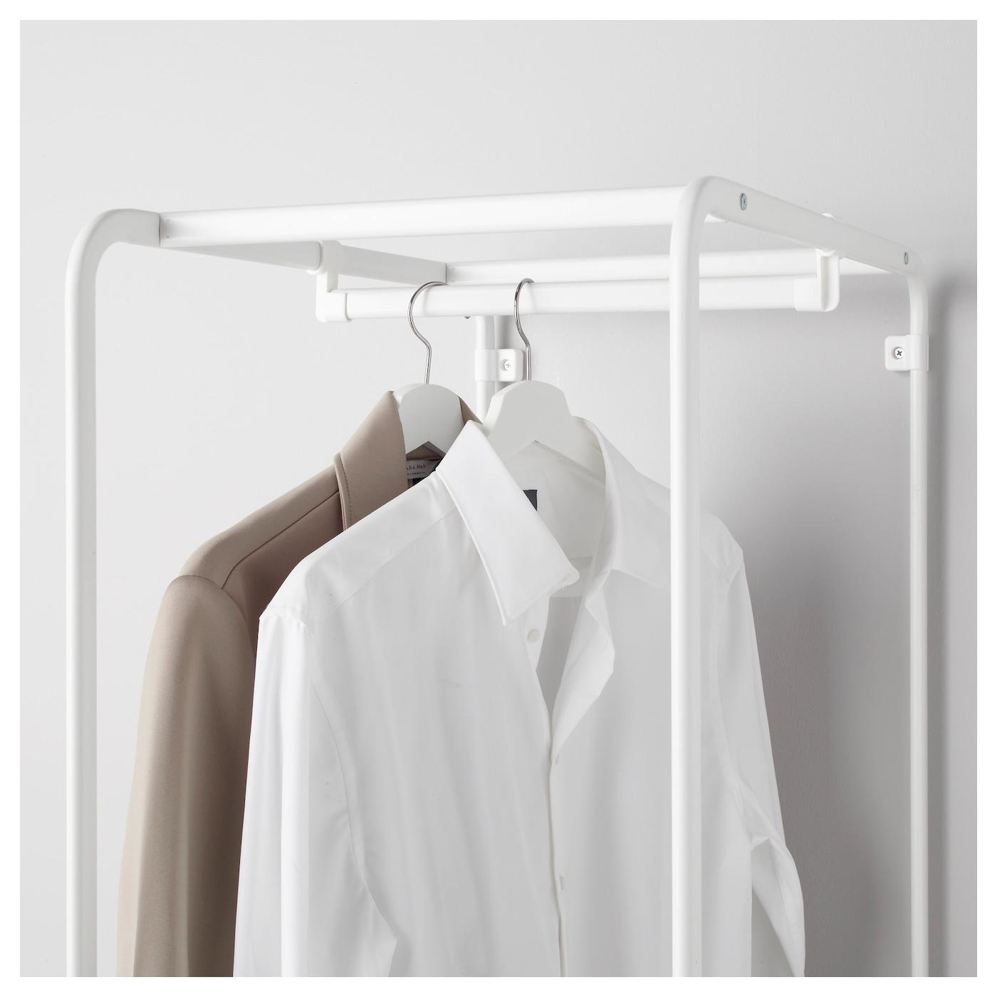 algot structure avec tringle blanc 100 cm ikea. Black Bedroom Furniture Sets. Home Design Ideas
