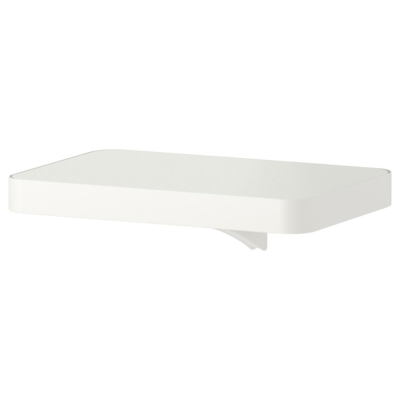 algot tablette avec console blanc 30x20 cm ikea. Black Bedroom Furniture Sets. Home Design Ideas