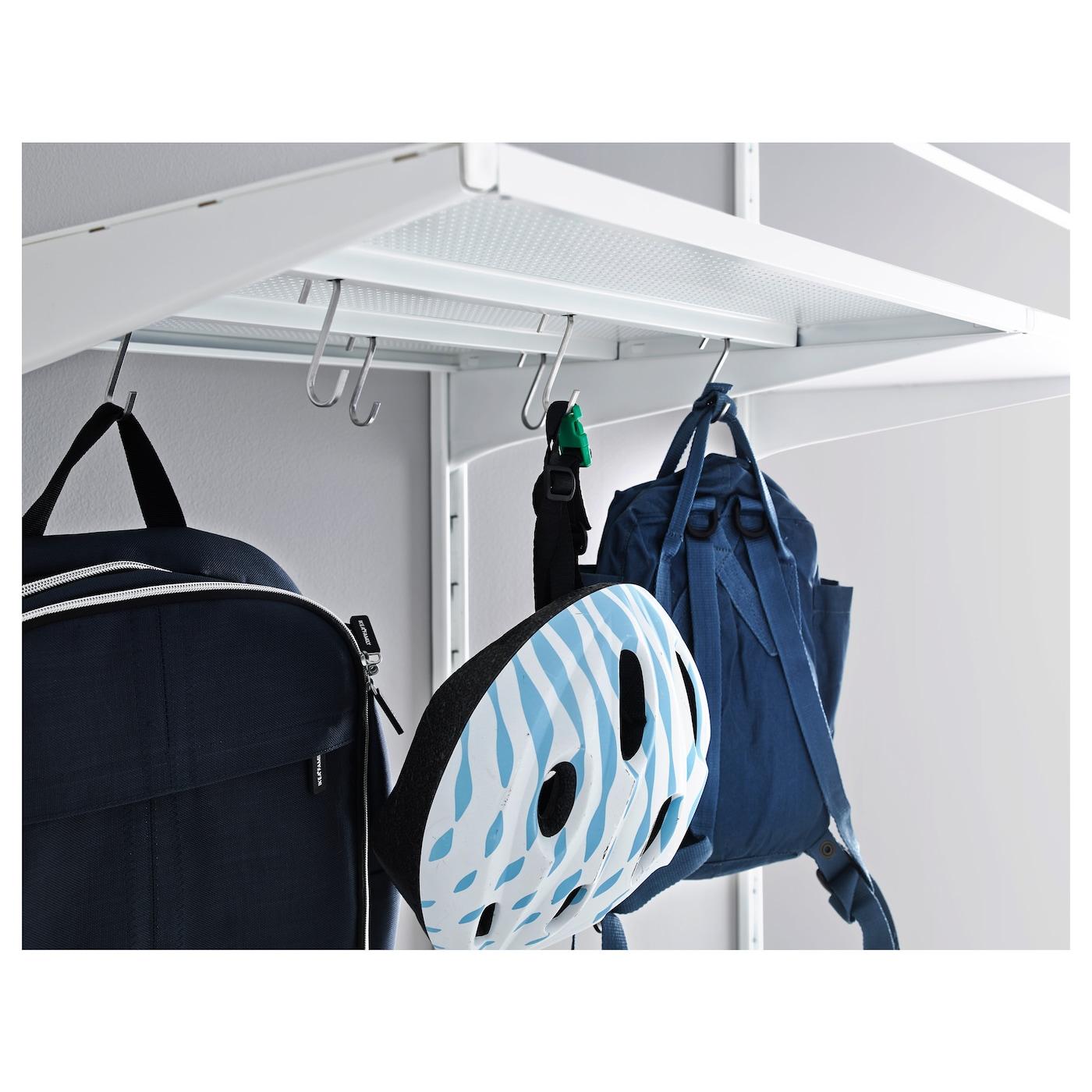 algot tablette m tal blanc 60 x 58 cm ikea. Black Bedroom Furniture Sets. Home Design Ideas