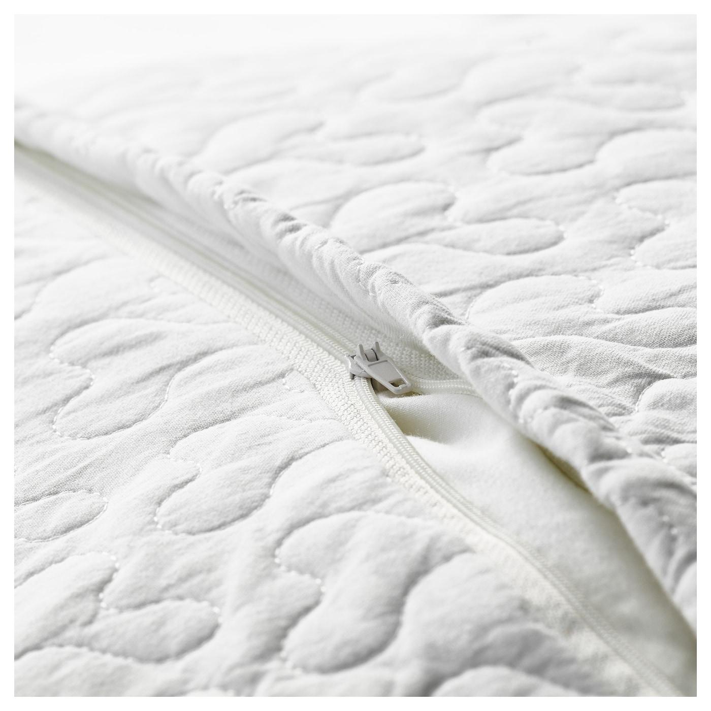 alina couvre lit et housse de coussin blanc 180x280 65x65 cm ikea. Black Bedroom Furniture Sets. Home Design Ideas