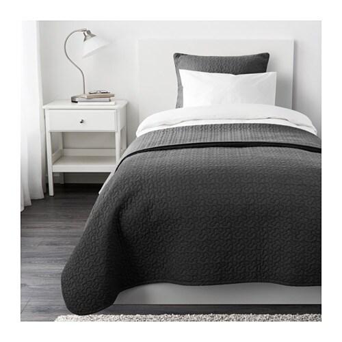 alina couvre lit et housse de coussin 180x280 65x65 cm. Black Bedroom Furniture Sets. Home Design Ideas