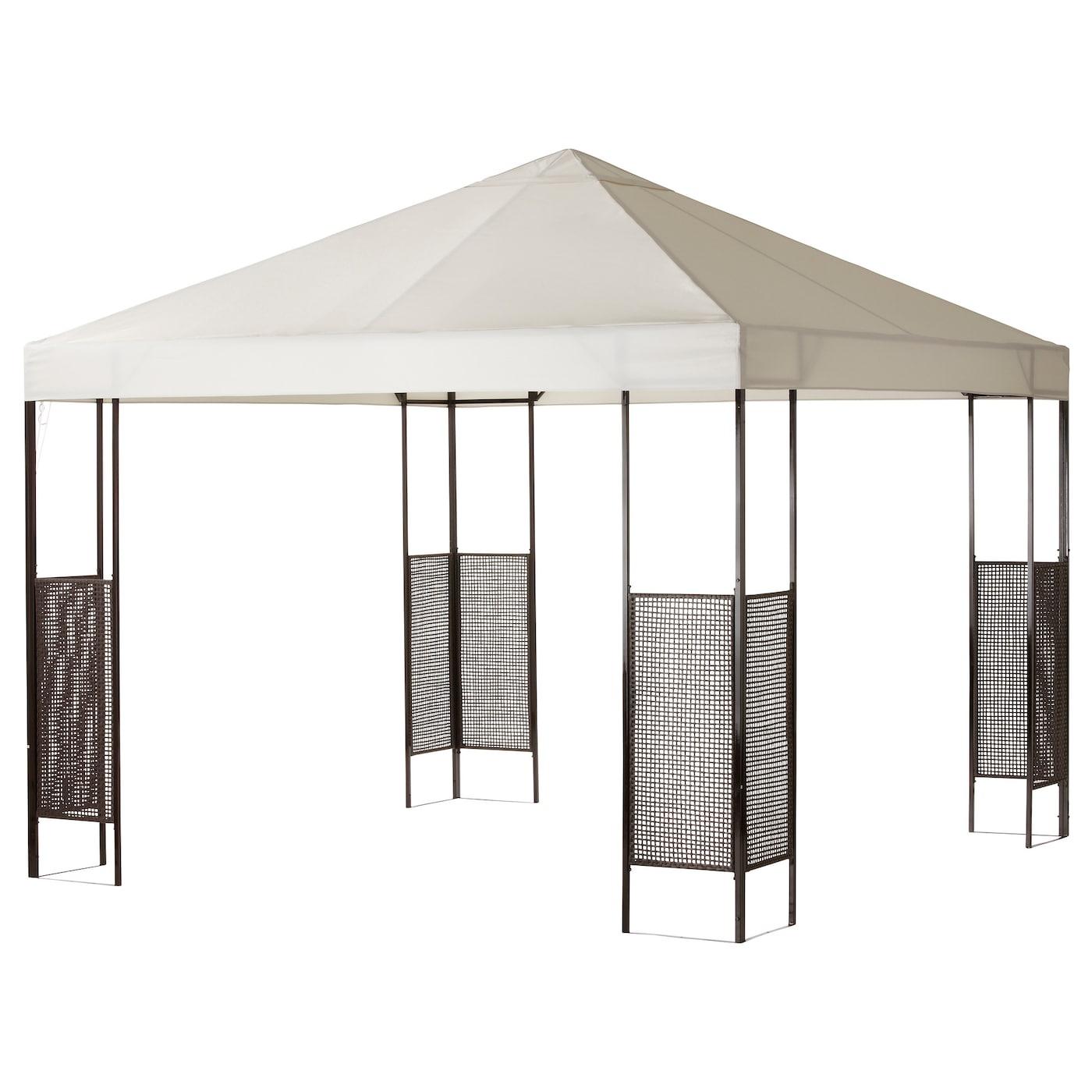 ammer tonnelle brun fonc beige 300x300 cm ikea. Black Bedroom Furniture Sets. Home Design Ideas