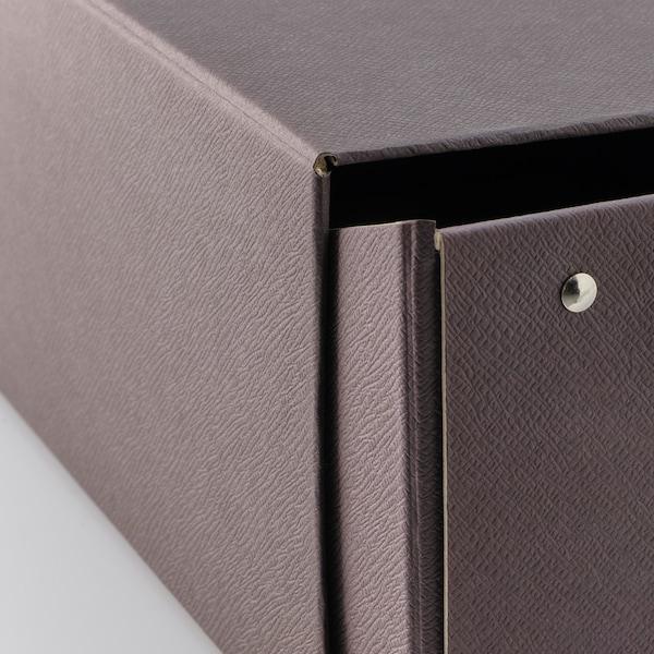 ANILINARE Boîte à chaussures - brun foncé - IKEA