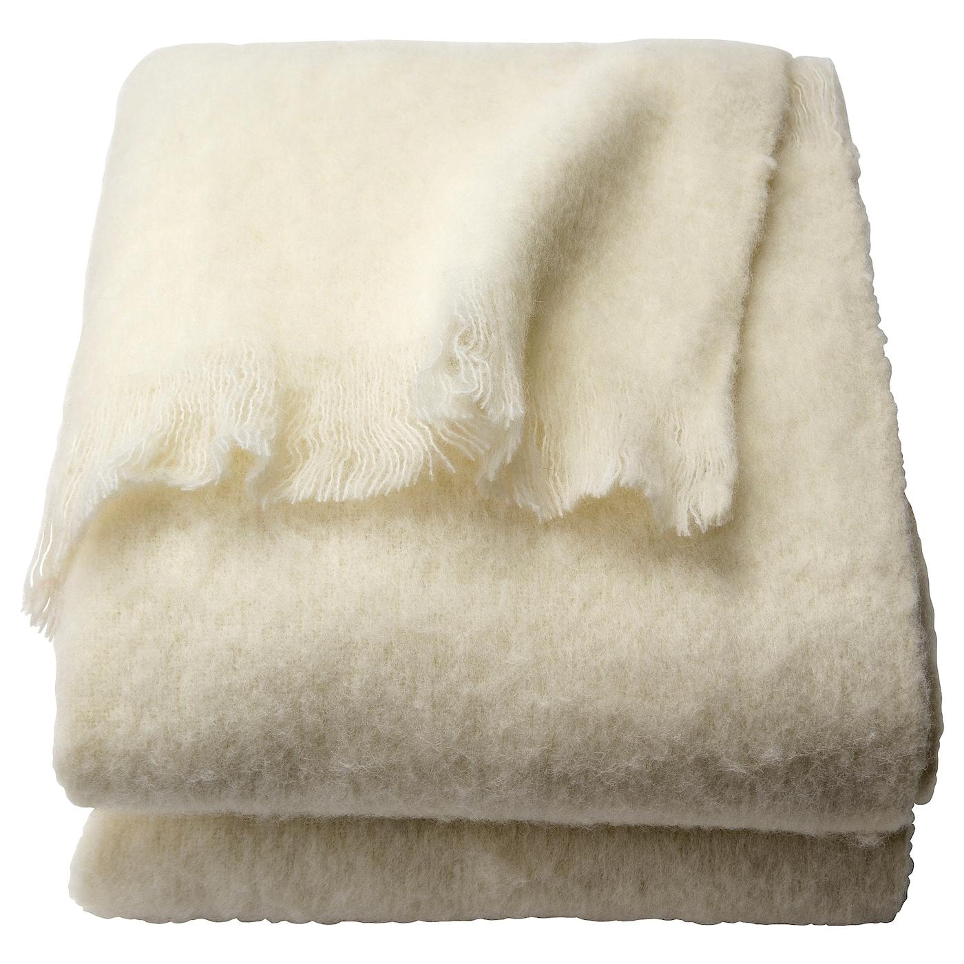 anncharlotte plaid blanc 120 x 180 cm ikea. Black Bedroom Furniture Sets. Home Design Ideas