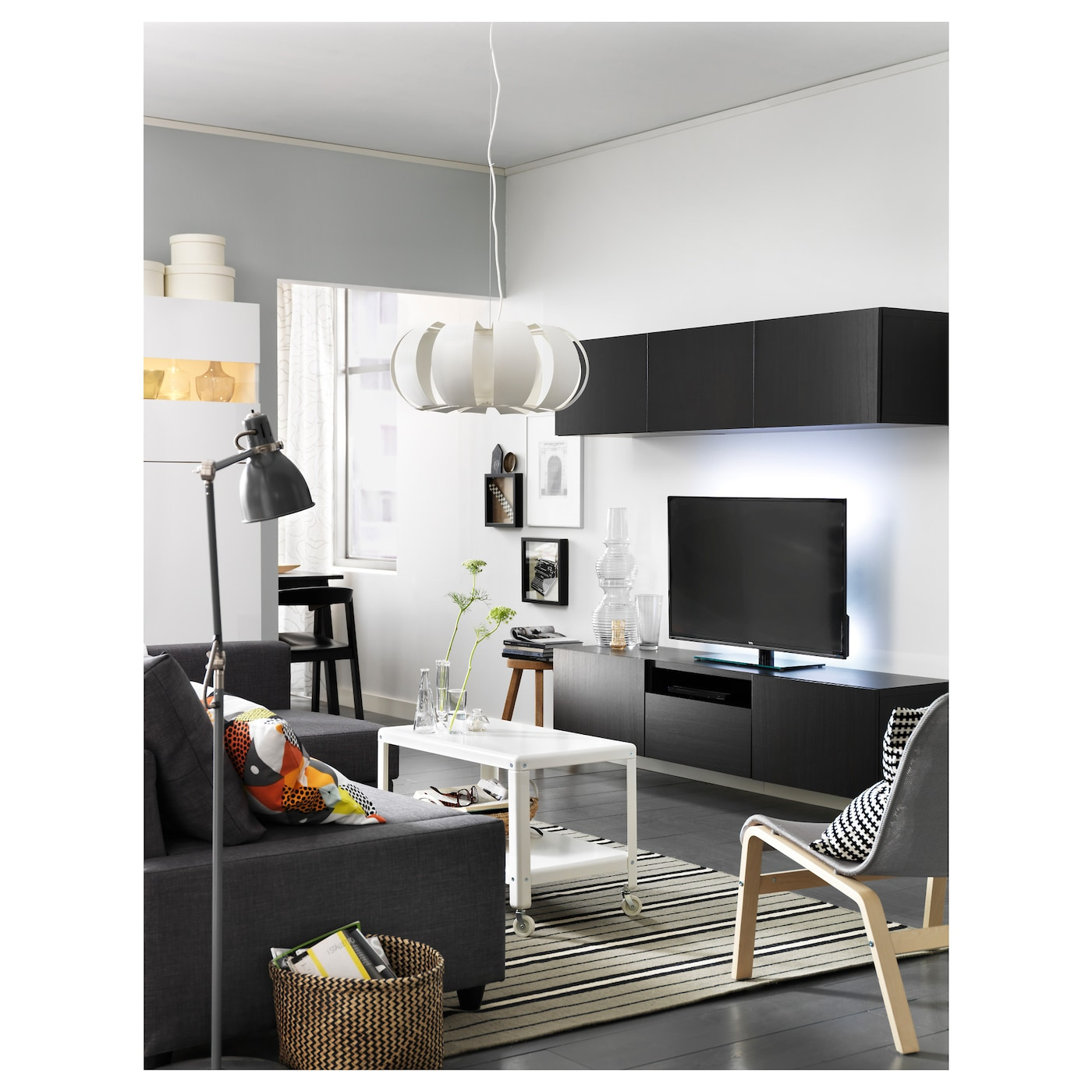ar d lampadaire liseuse gris ikea. Black Bedroom Furniture Sets. Home Design Ideas
