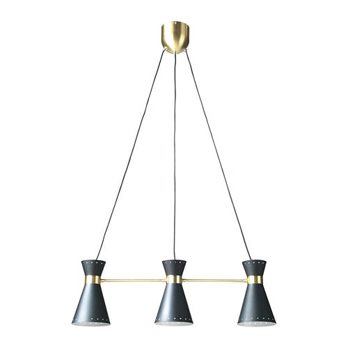 Arjeplog suspension 3 lampes ikea - Ikea luminaire suspension ...