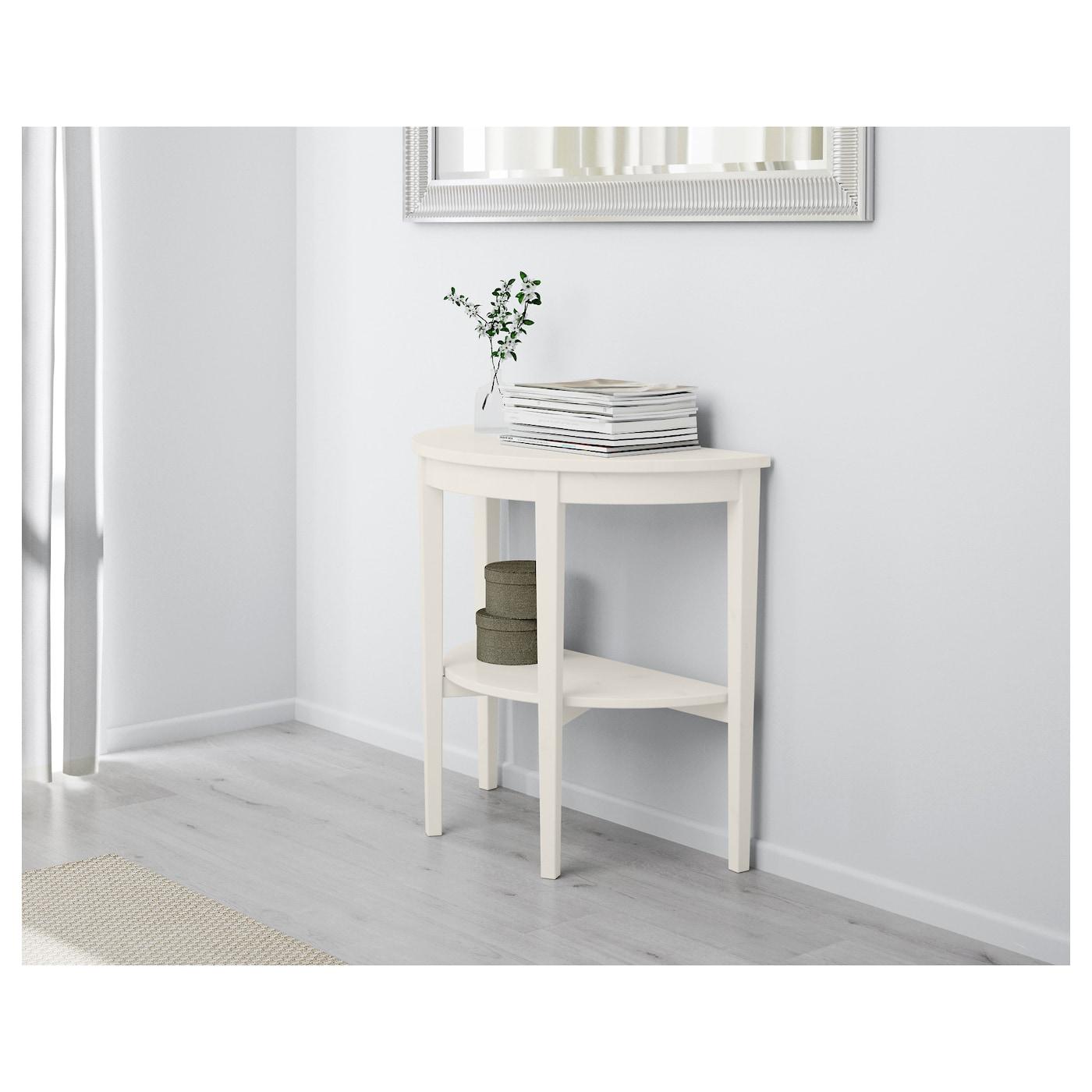 arkelstorp table demi lune blanc 80 x 40 x 75 cm ikea. Black Bedroom Furniture Sets. Home Design Ideas