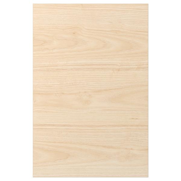ASKERSUND Porte, effet frêne clair, 40x60 cm