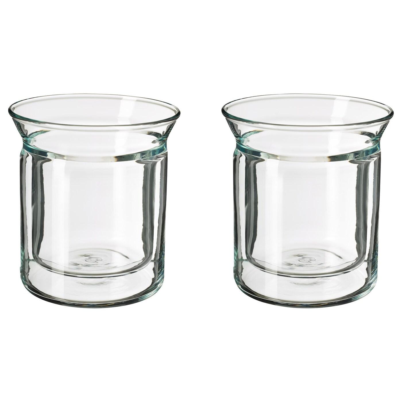egentlig cafeti re th i re double paroi verre transparent 0 3 l ikea. Black Bedroom Furniture Sets. Home Design Ideas