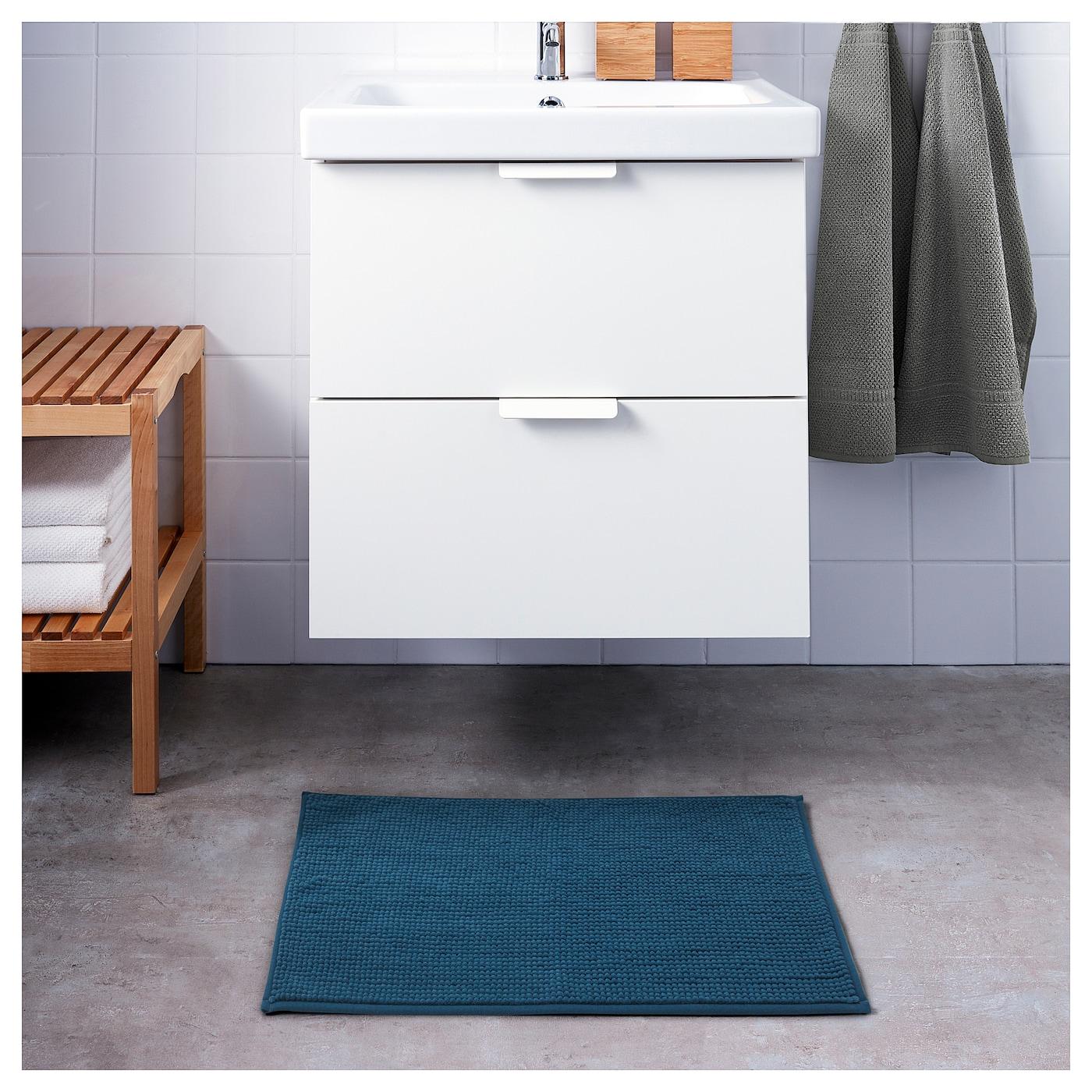 Badaren Tapis De Bain Vert Bleu 40 X 60 Cm Ikea