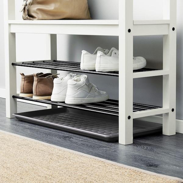 BAGGMUCK Plateau pour chaussures, intérieur/extérieur/gris, 71x35 cm