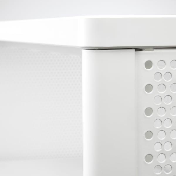 BEKANT Étagère, blanc, 121x134 cm