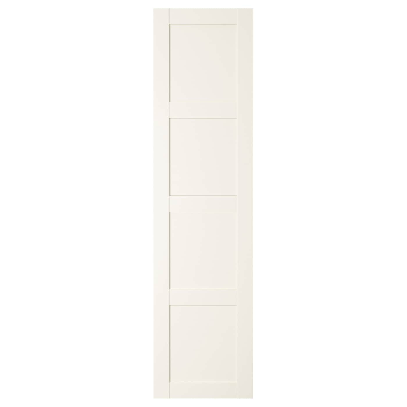 bergsbo porte avec charni res blanc 50x195 cm ikea. Black Bedroom Furniture Sets. Home Design Ideas