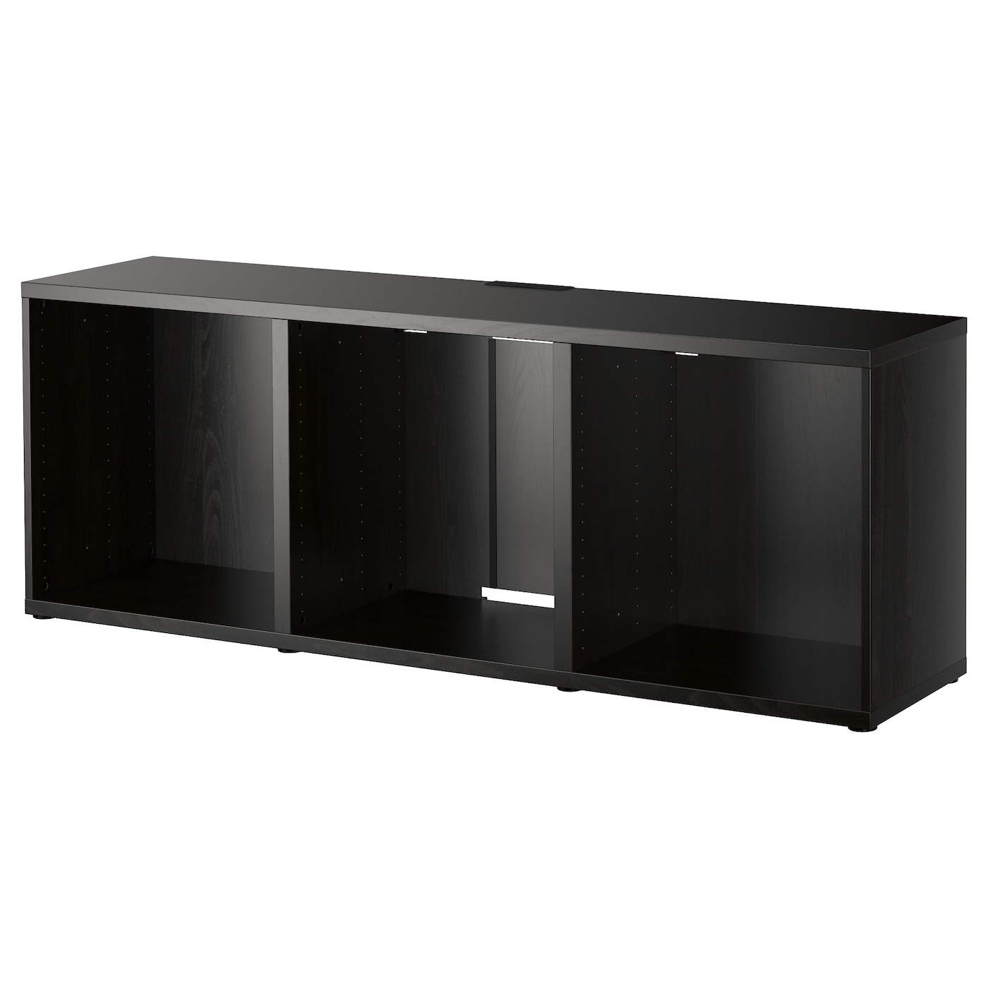 best banc tv brun noir 180 x 40 x 64 cm ikea. Black Bedroom Furniture Sets. Home Design Ideas