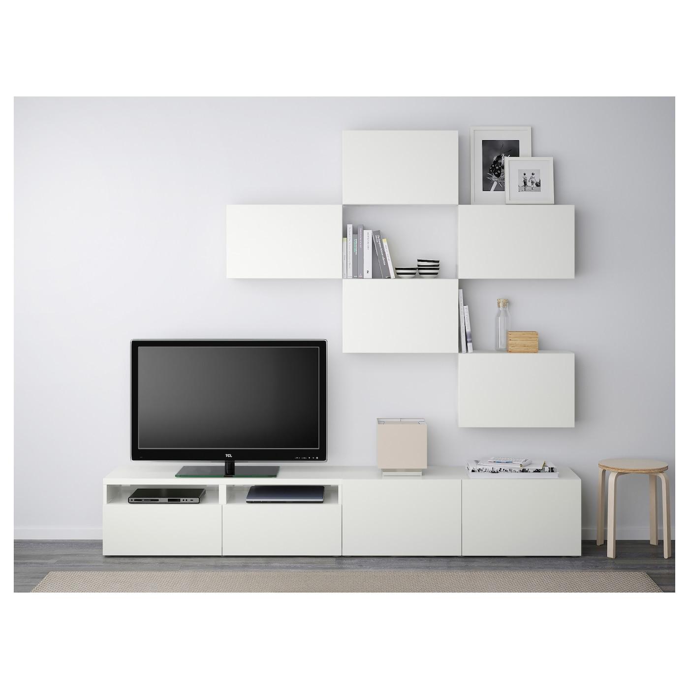 best combinaison meuble tv lappviken blanc 240 x 20 40 x 204 cm ikea. Black Bedroom Furniture Sets. Home Design Ideas