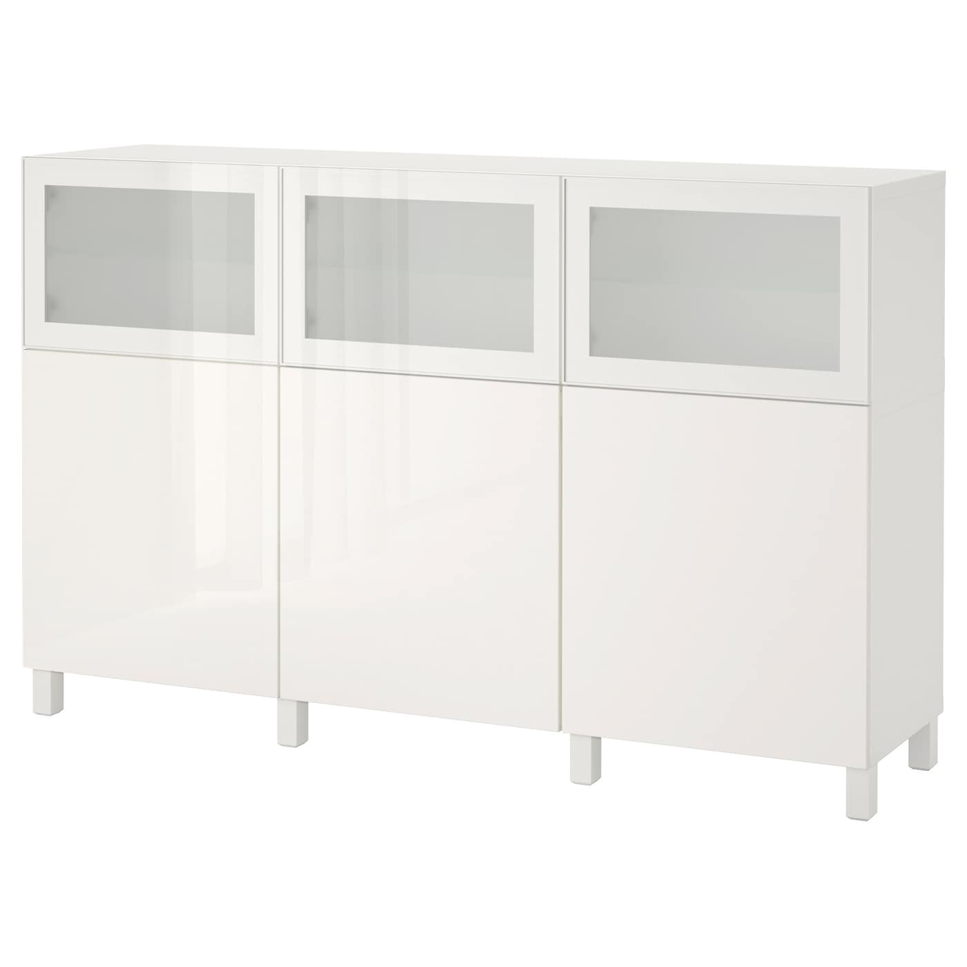 best combinaison rangement portes blanc selsviken glassvik brillant blanc verre givr 180 x 40. Black Bedroom Furniture Sets. Home Design Ideas
