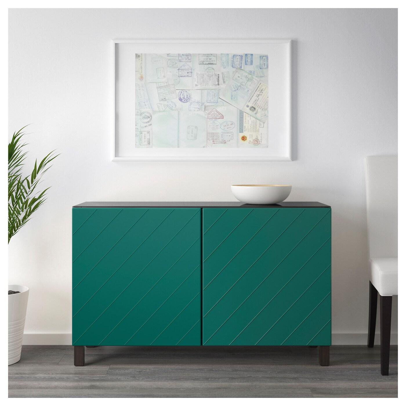 best combinaison rangement portes brun noir hallstavik bleu vert 120x40x74 cm ikea. Black Bedroom Furniture Sets. Home Design Ideas