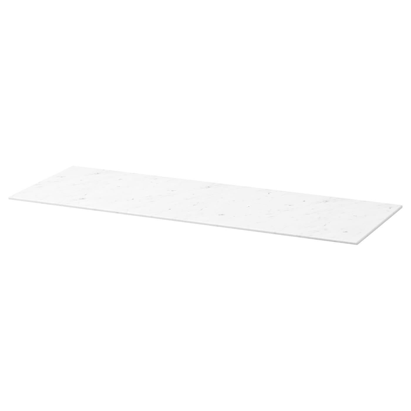 best plateau sup rieur blanc marbr 120x42 cm ikea. Black Bedroom Furniture Sets. Home Design Ideas